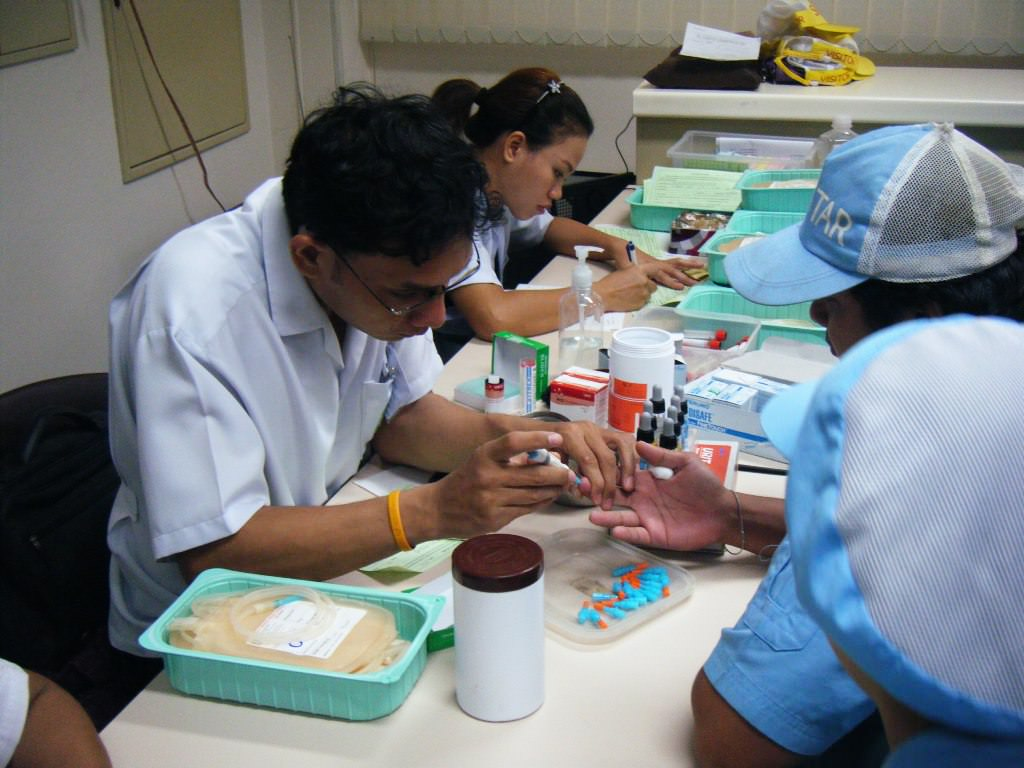 Sunstar Engineering Thailand participates in an annual blood donation