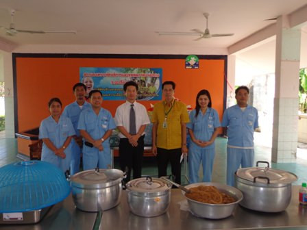 Support by Sunstar Engineering Thailand to the Bangpakong Home for the Disabled