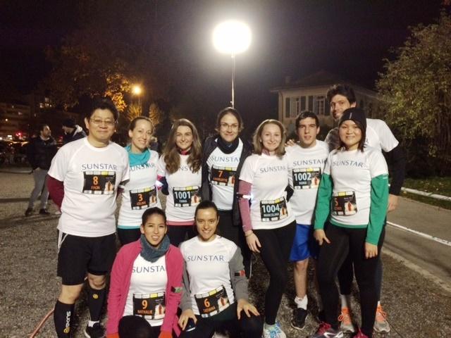 Charity Night Run in Switzerland