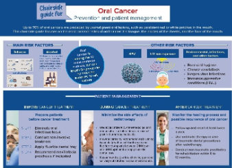 Oral cancer: prevention and patient management – chairside guide with FDI