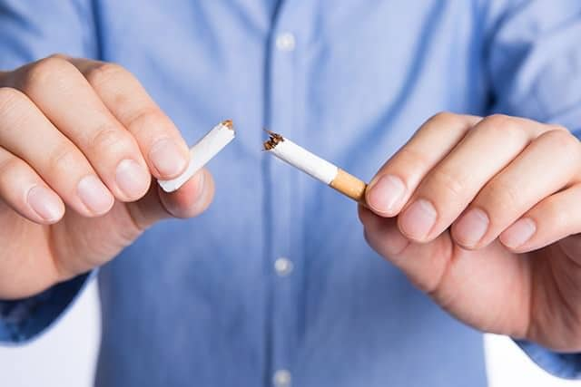 Smoking increases the risk of periodontal disease as much as 8 times!