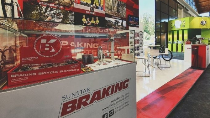 Sunstar Braking at the Eurobike 2019