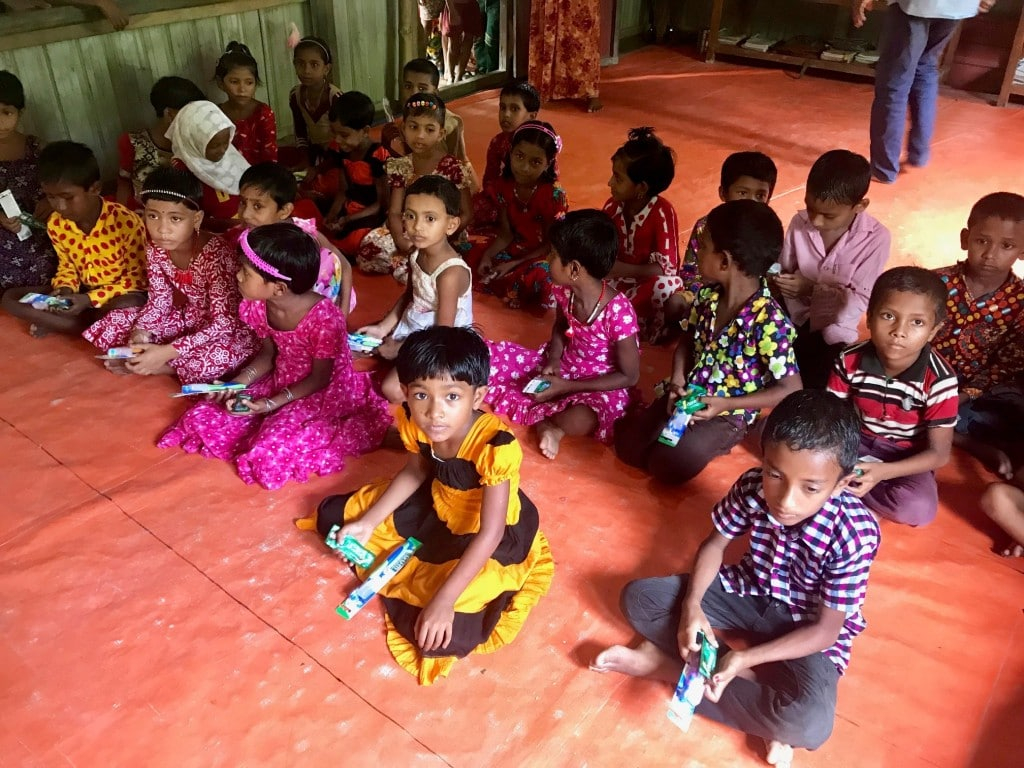 Raising oral health awareness in Bangladesh