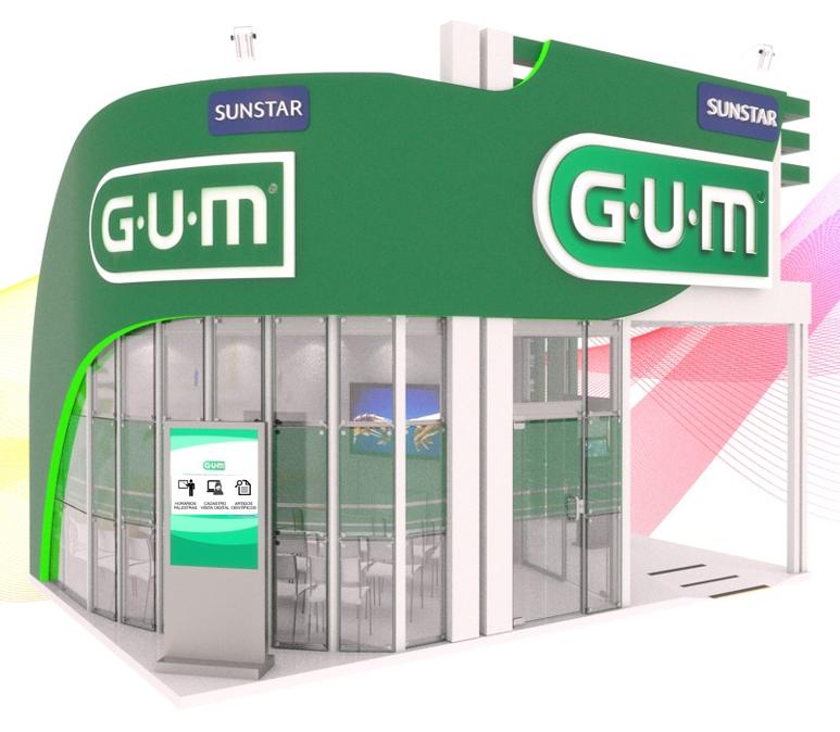 Sunstar GUM booth CIOSP