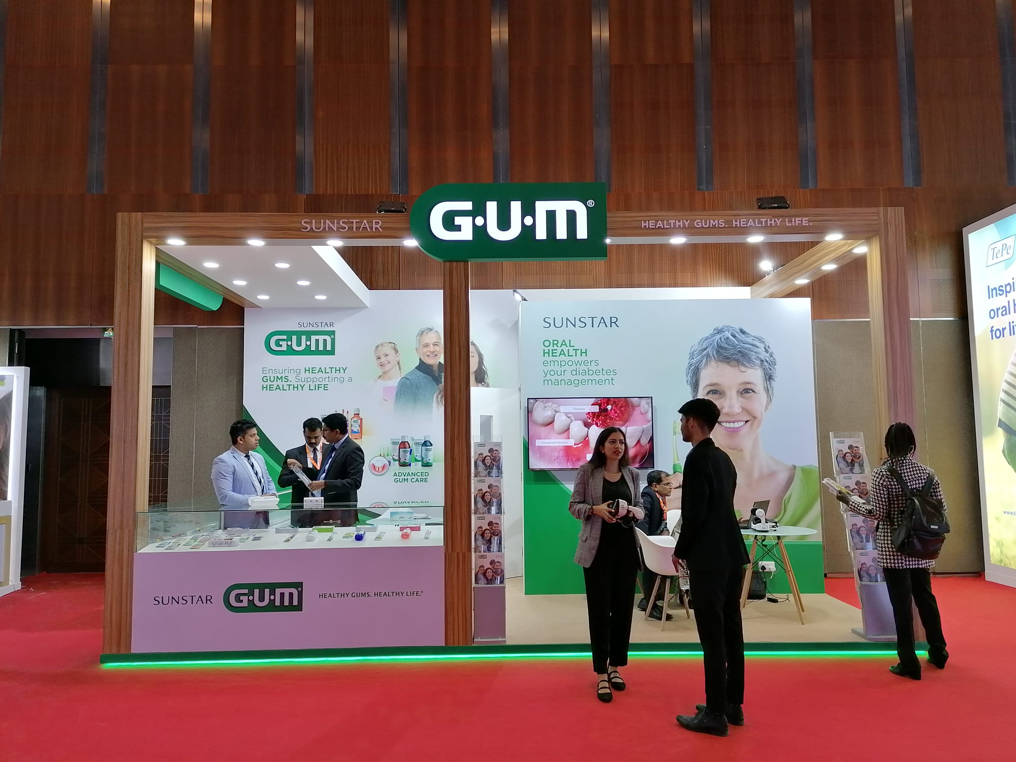 Sunstar GUM attends AEEDC in Dubai