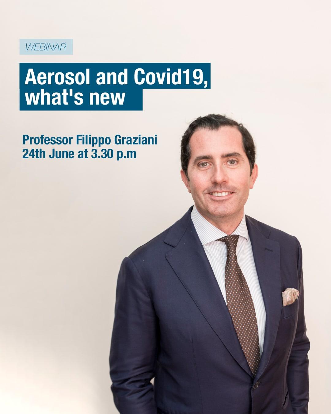 "Sunstar Webinars: ""Aerosol and Covid-19, what's new?"""