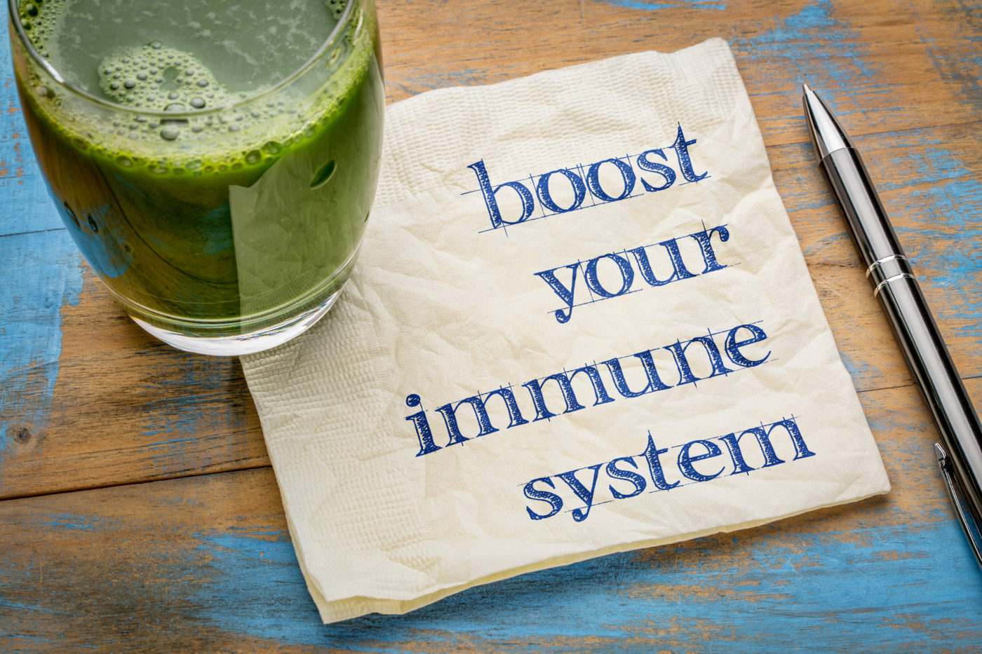 Get ready for the change of season; boost your immune system!