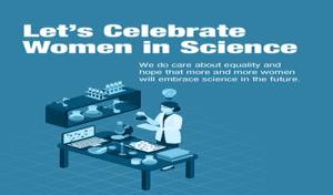 Let's celebrate women in science