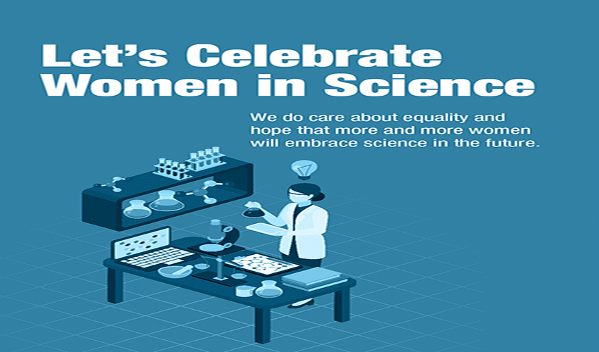 Let's celebrate women in science